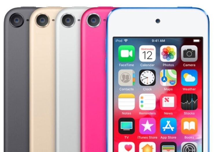el iPod touch colores