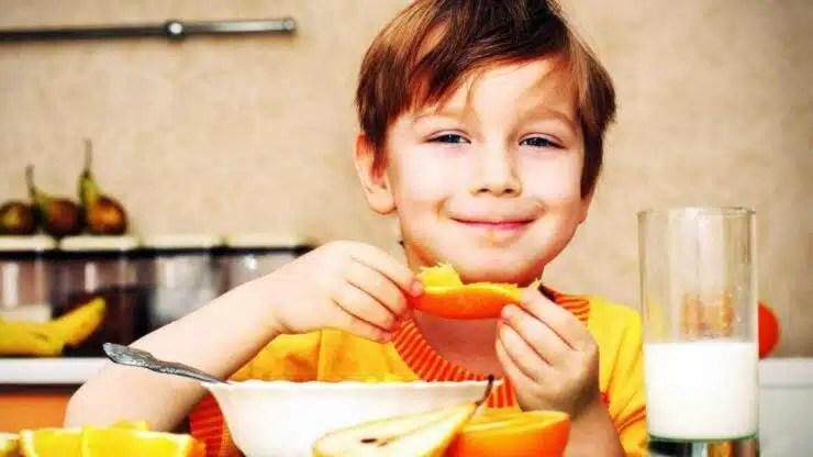 niños más saludables