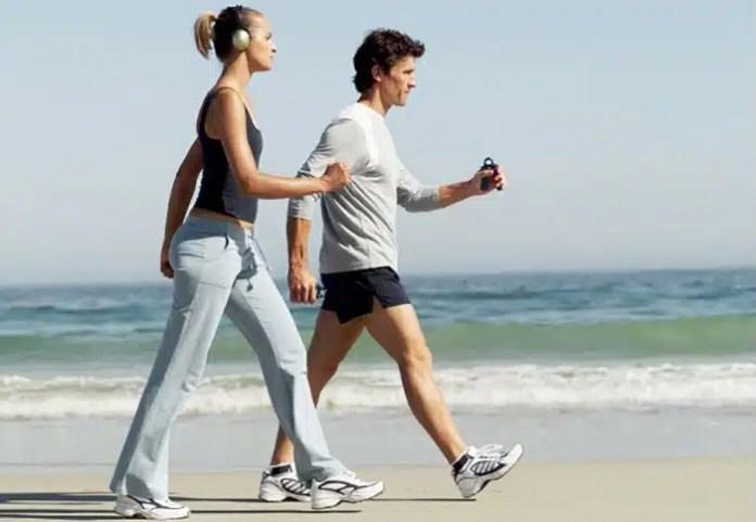 caminar te hace bajar de peso