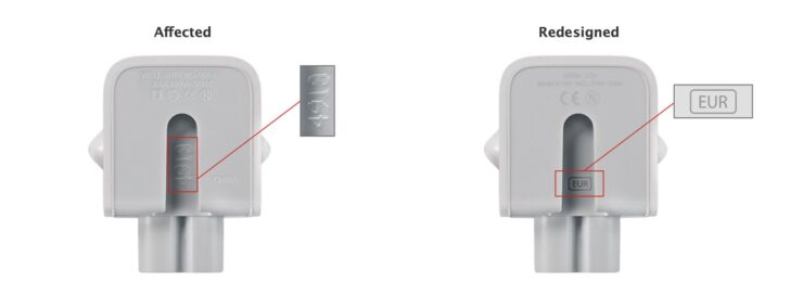 Apple plug recordar