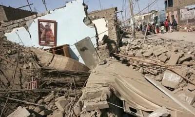 terremoto en Lima