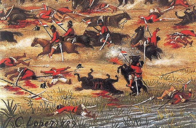 la Batalla de Tuiuti
