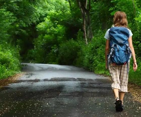 caminata diaria