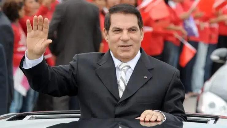 El depuesto dictador tunecino Ben Alí fallece en el exilio saudí
