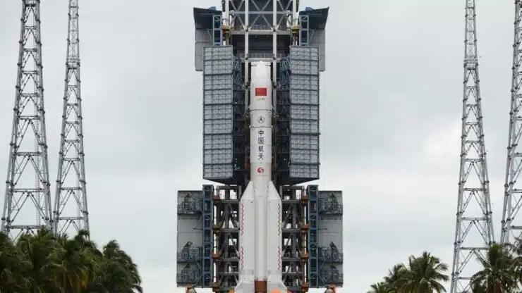 China lanza cohete
