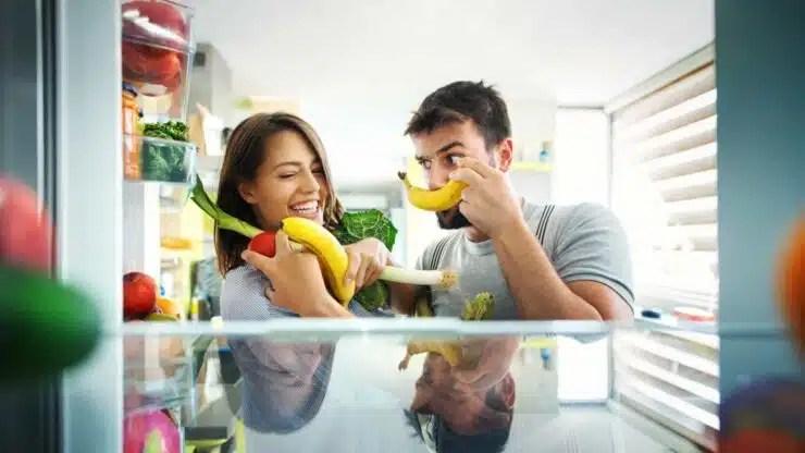 alimentos en congelador