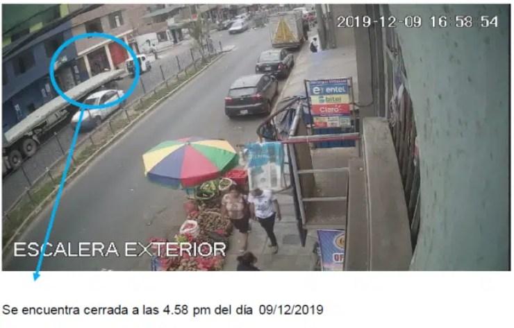Peritaje Camaras de seguridad Chorrillos San Genaro 10