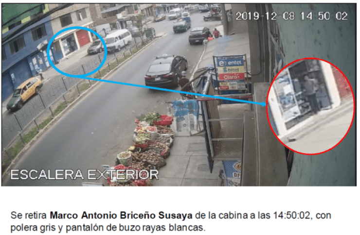 Peritaje Camaras de seguridad Chorrillos San Genaro 8