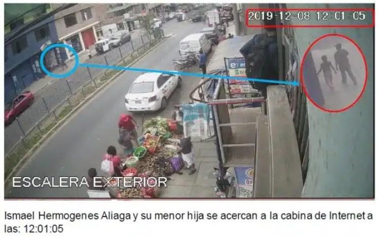 Peritaje a Camaras de seguridad Chorrillos San Genaro 1