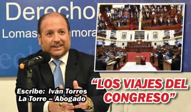 """LOS VIAJES DEL CONGRESO"""""""