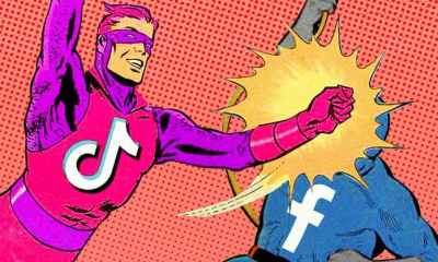 TikTok Empresa Acusa a Facebook de Plagio