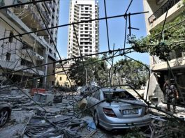 Beirut: El número de muertos aumenta a 154