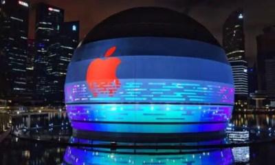 tienda flotante de Apple