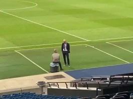 Guardiola y Zidane Conversando como Dos Amigos después del Partido