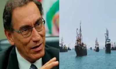 Vizcarra y Barcos Chinos