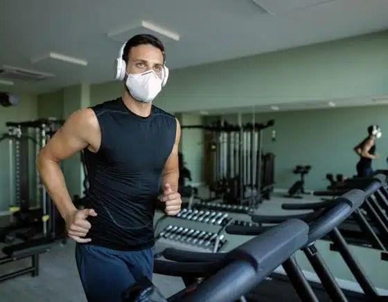 ejercicio físico mascarilla