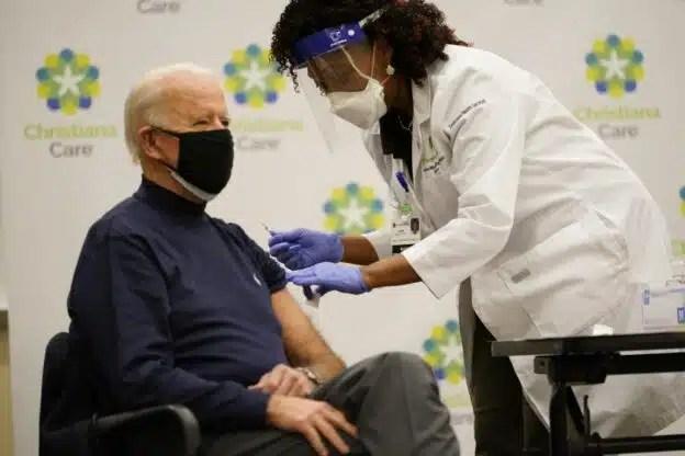 Biden vacunado