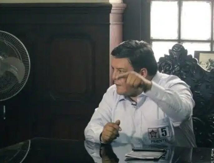 José Pimentel Aliaga Personero Legal del Apra