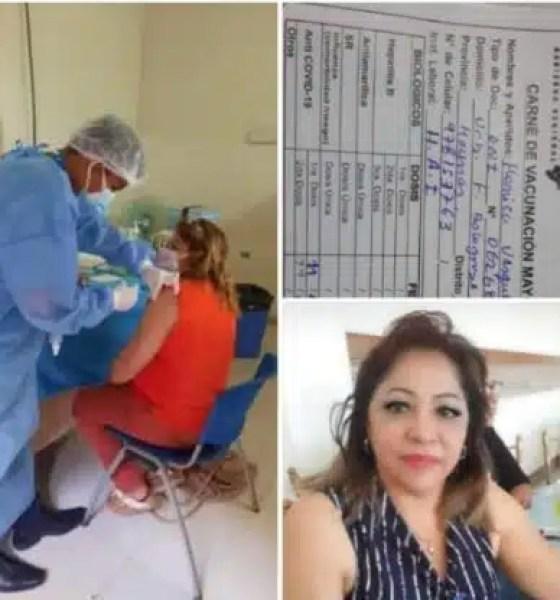 enfermera, Mónica Vasques Bardales