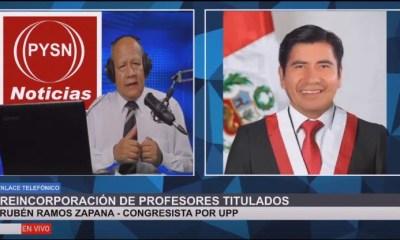 entrevista al cong. Ruben Ramos