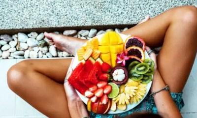frutas corazón
