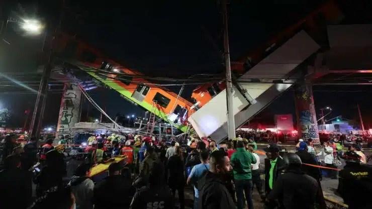 accidente en México