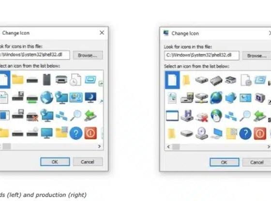 Microsoft actualizará los iconos presentes desde Windows 95