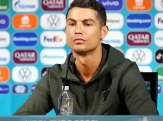 Coca-Cola X Cristiano Ronaldo: la marca lanza botella de agua con el nombre del crack
