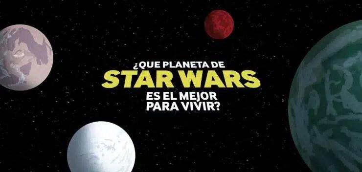 galaxia de Star Wars