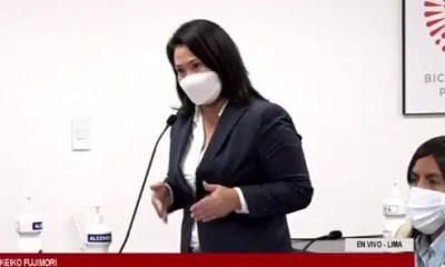 Keiko Fujimori en audiencia
