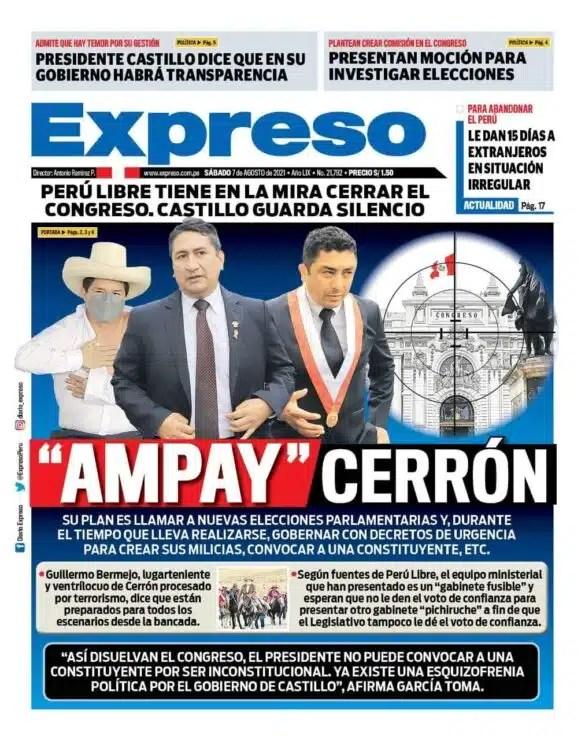 Gobierno Castillo-Cerron