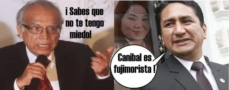 Cerrón ataca a Aníbal Torres