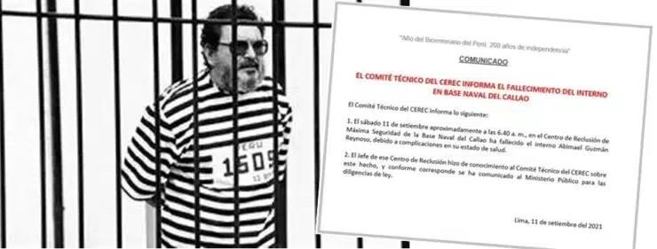 Murió Abimael Guzmán