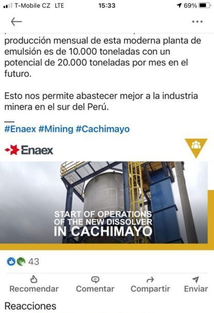 Cachimayo Planta