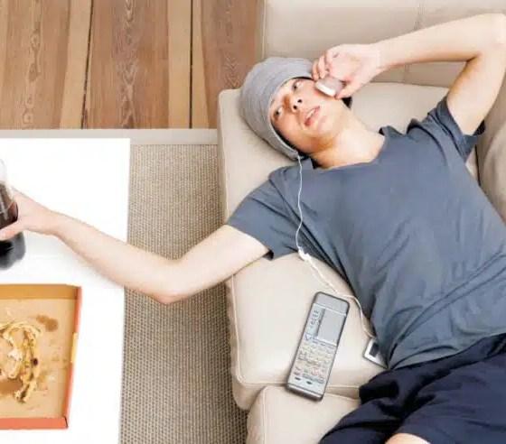 estilo de vida sedentaria