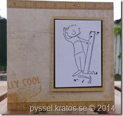 Fredriks födelsedagskort 2014