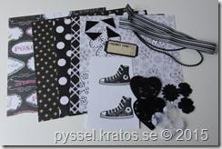 kort-kit svart