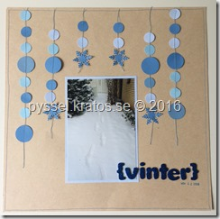 Vinter layout från Pinterest