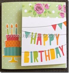 kort - happy birthday