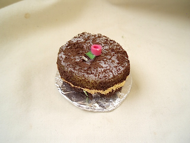 Chokladtårta för tittskåp
