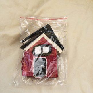 3 pack sjöbodar packeterade