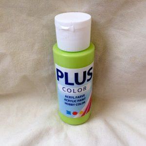 Plus color ljusgrön/bright 60 ml
