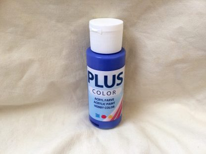 Plus color ultra marin blå, 60 ml