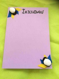 Tips på student inbjudningskort