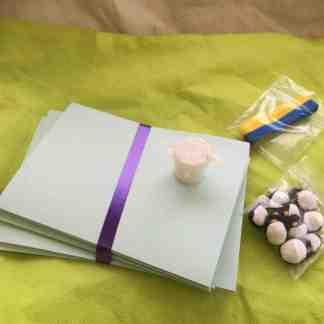 Studentpysselpaketet, ljusblå