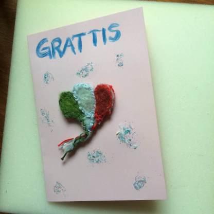Gratulations kort