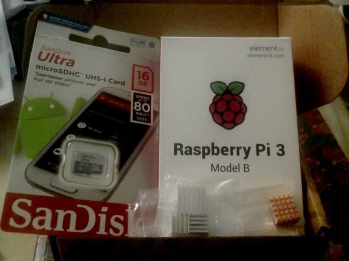Raspberry Pi Maceralarım No-01