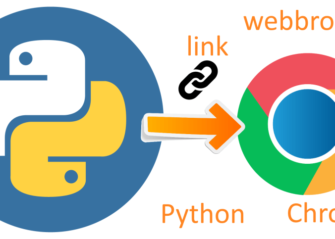 python open a link in chrome