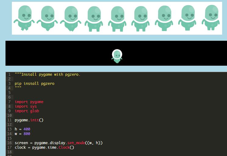 Pygame: Animate a sprite   pythonprogramming