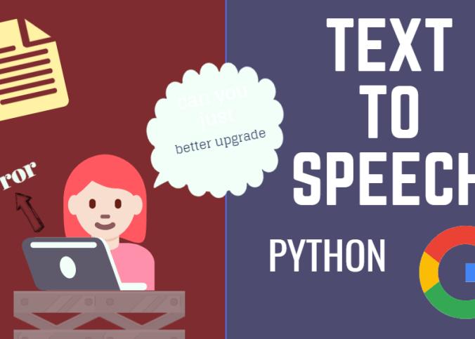 gtts - python programming